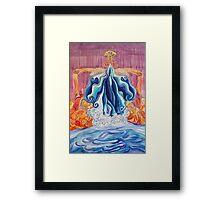 Femoris Falls Framed Print