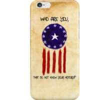 History of The Courier iPhone Case/Skin