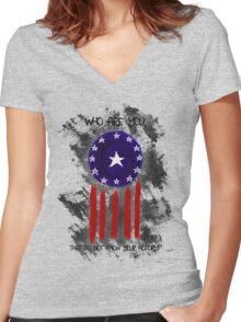 History of The Courier Women's Fitted V-Neck T-Shirt