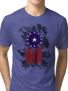 History of The Courier Tri-blend T-Shirt