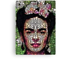 Frida Kahlo Art - Define Beauty Canvas Print