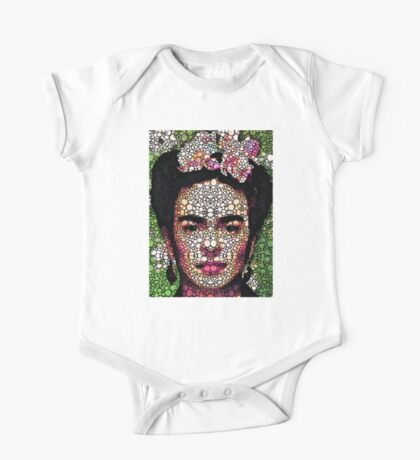 Frida Kahlo Art - Define Beauty One Piece - Short Sleeve