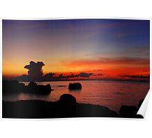 Koh Tao, Sunset Poster