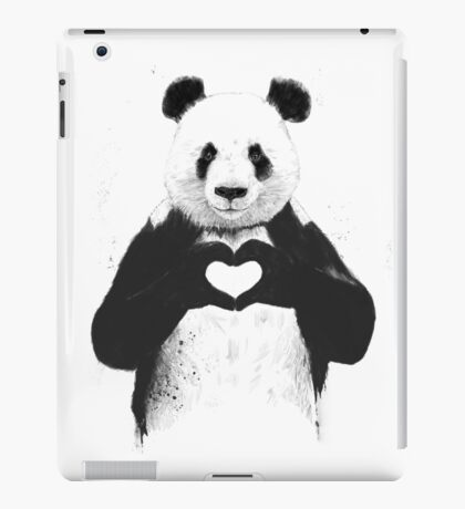 All you need is love iPad Case/Skin