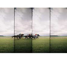 Day at the Races 1 Photographic Print