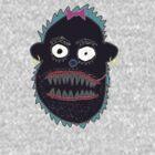 Boris the Monkey by pepemczolz