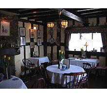 Rocke Cottage Tea Rooms Interior Photographic Print
