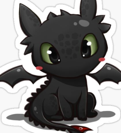 Toothless 2 Sticker
