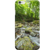 Bridge at Glenoe Waterfall iPhone Case/Skin