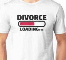 Divorce loading Unisex T-Shirt