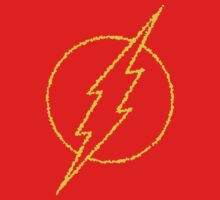 The Flash Yellow Logo Kids Clothes