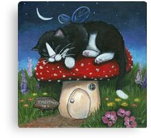 Toadstool Inn Canvas Print
