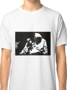 Hood - Banksy Classic T-Shirt