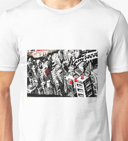 Buildings - Banksy Unisex T-Shirt