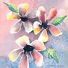 Salt Flowers by arline wagner
