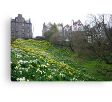 Ramsay Garden in Spring Canvas Print