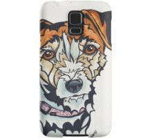 Dog Art #24: Penny the Jack Russell Terrier Samsung Galaxy Case/Skin