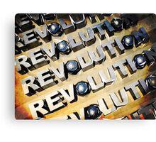Patriotic American Revolution Canvas Print