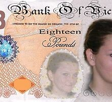 £18 note by trsuk1