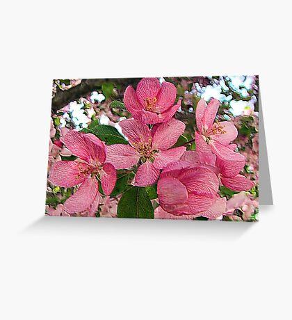 Pink Inspiration Greeting Card