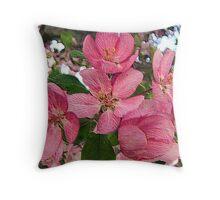 Pink Inspiration Throw Pillow