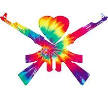 Man Overboard Tie Dye Logo by juliethrons