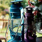 Rustic lantern by Kasia Fiszer