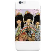 hippy chicks iPhone Case/Skin