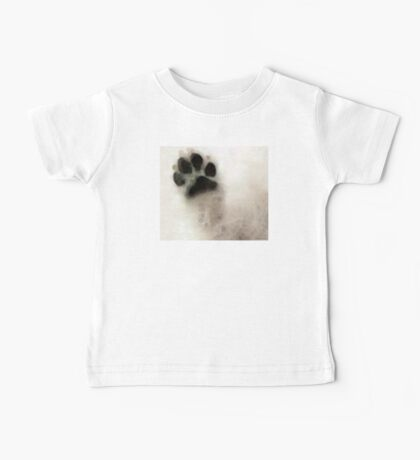 Dog Art - I Paw You Baby Tee