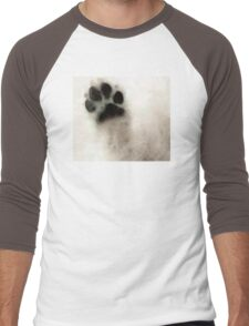 Dog Art - I Paw You Men's Baseball ¾ T-Shirt