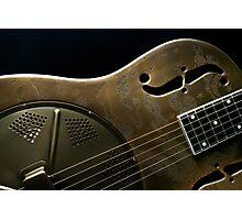 Guitar Icon : Resonator Photographic Print