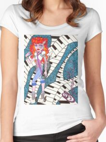 Operetta Women's Fitted Scoop T-Shirt