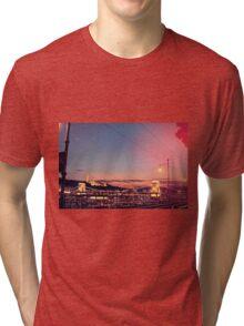 Chain Bridge Tri-blend T-Shirt
