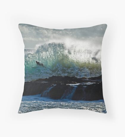 Watchin' Waves in the Morning... Throw Pillow