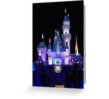 Disney Castle 60th Anniversary Greeting Card