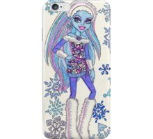 Abbey Abominable iPhone Case/Skin