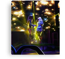Mad T Party Alice and Hatter Canvas Print