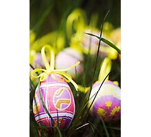 Easter egg hunt Photographic Print