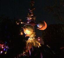 Tomorrowland Disneyland by doodlewizard