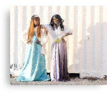 American Princesses  Canvas Print