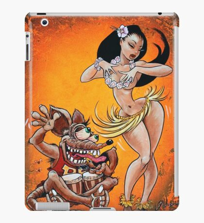 Fink Hula Party iPad Case/Skin