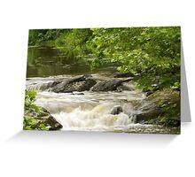 Unami Creek at Trinity Bridge #2 Greeting Card
