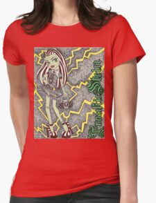 Frankie Stein. Womens Fitted T-Shirt