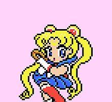 Sailor Moon - pixel art by galegshop