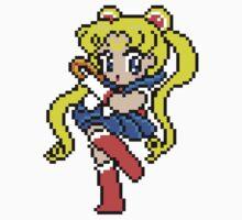 Sailor Moon - pixel art Kids Tee