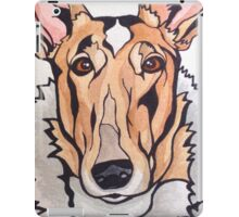 Dog Art #8: Cassidy the Smooth Collie iPad Case/Skin