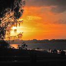 Sunset at Torquay by robert murray