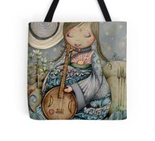 Moon Guitar Tote Bag