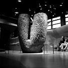Mégalithe - Musée du Quai Branly  by Pascale Baud