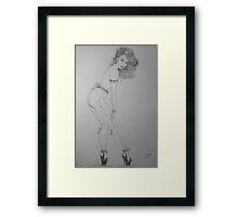 """Tiny-Bows"" Framed Print"